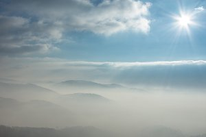 Mountains in the mist 5