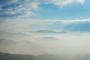 Mountains in the mist 6
