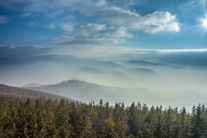 Mountains in the mist 4