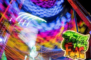 Fairground at night · #10