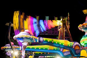 Fairground at night · #11