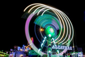 Fairground at night · #12