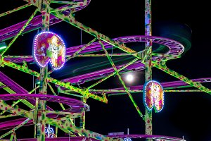 Fairground at night · #13