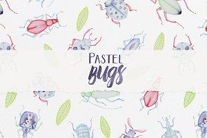 Pastel Bugs