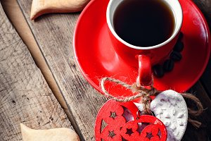 Coffee on Valentine's day