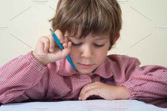 School boy work.jpg - Education