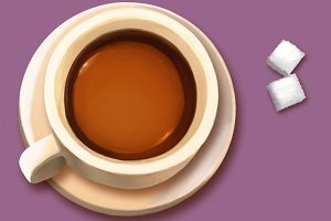 Coffee/ Tea with Sugar