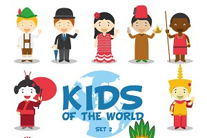 Kids of the world: Set 2