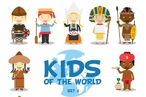 Kids of the world: Set 3