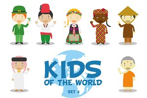 Kids of the world: Set 4