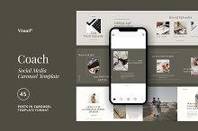 Coach - Carousel Kit Template