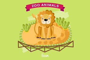 Zoo Animal, Lion