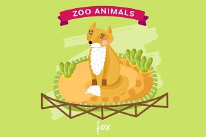 Zoo Animal, Fox