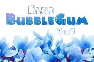 Blue Bubblegum: 4 in 1