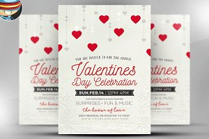 Rustic Valentine's Flyer Template