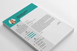 CV Resume & Letterhead