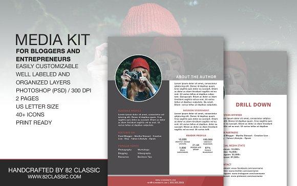 Media Kit Design for Bloggers