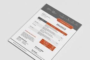 Modern docx invoice design