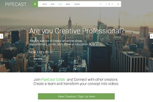 Creative Community website