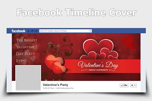 Valentine Party FB Timelin Cover v2