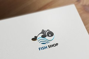 FISH SHOP logotype