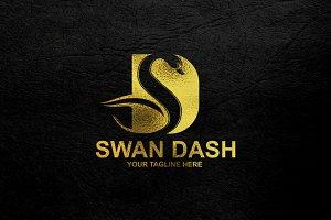 Swan Dash / Letter D Logo