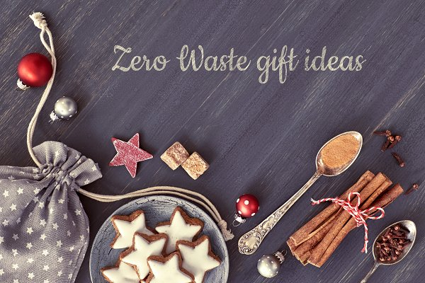 Zero Waste Gift Ideas Text Painted High Quality Holiday Stock Photos Creative Market