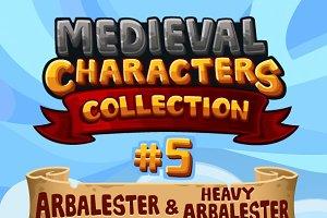 Medieval Game Sprites Characters 5