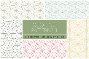 Geometric Line Patterns 1