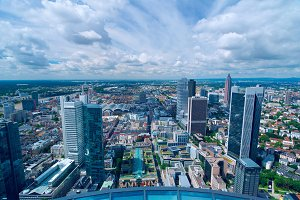 Top view of Frankfurt am Main in sunny day.jpg