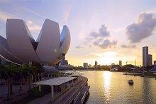 Beautiful sunset view to city of Singapore.jpg