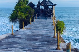 Temple Tanah Lot on coast of Bali.jpg