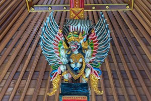 Bird Garuda in interior Balinese's temple.jpg