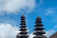 View of the temple complex in Bali on sunny day.jpg