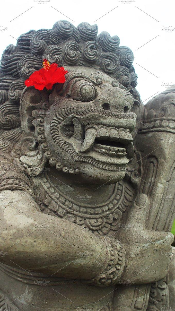 Hero of Balinese's epic Barong.jpg - Photos