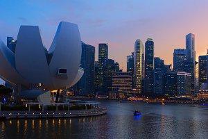 Beautiful view of city Singapore at sunset.jpg