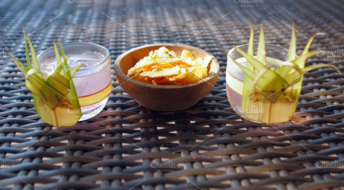 Glasses of beverage with snack (2).jpg - Photos