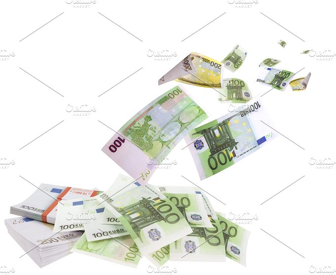 Falling euros isolated on white background.jpg - Business