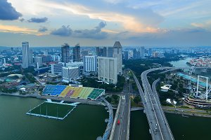 Beautiful view of Singapore from a height.jpg