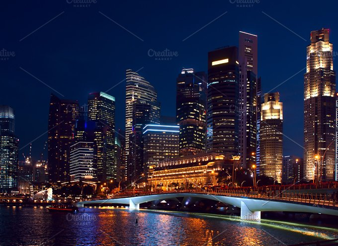 Night view to Singapore.jpg - Photos