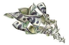 Falling dollars on white background.jpg