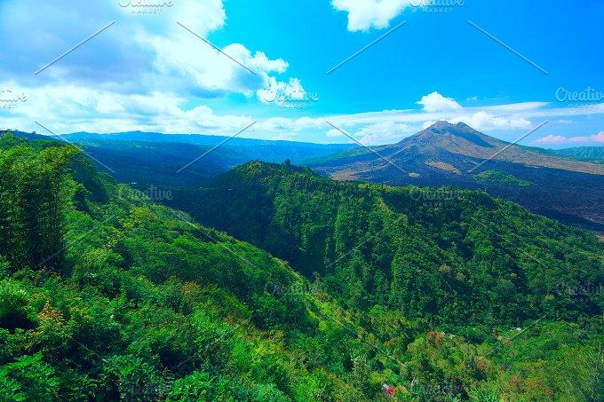 Panoramic view of the sacred mountain on Bali.jpg - Nature