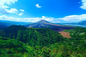 Panoramic view to the sacred mountain on Bali.jpg