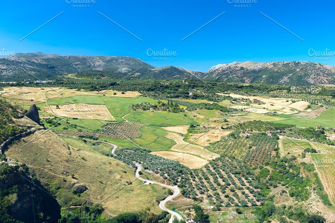 View to landscape of Andalusia.jpg - Nature