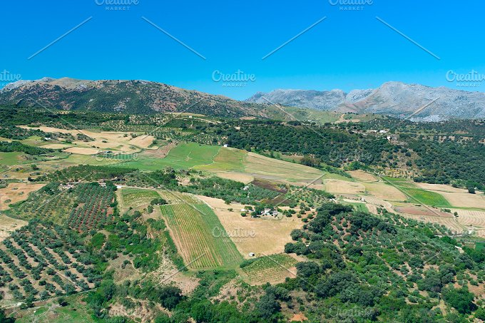 View to landscape Andalusian plains.jpg - Nature