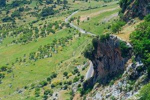 Curvy narrow roads in Spain.jpg