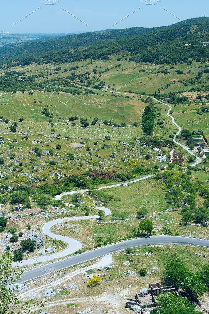 Narrow curvy roads in Spain.jpg - Nature
