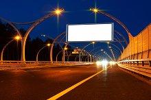 Big white billboard on night highway.jpg