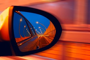 Reflection of  hidgway in the mirror of a car.jpg