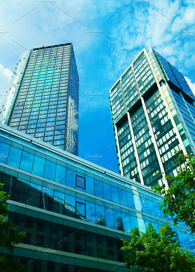 Office buildings in downtown.jpg - Architecture